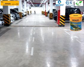 sơn sàn bê tông giá rẻ chính hãng benzo 001